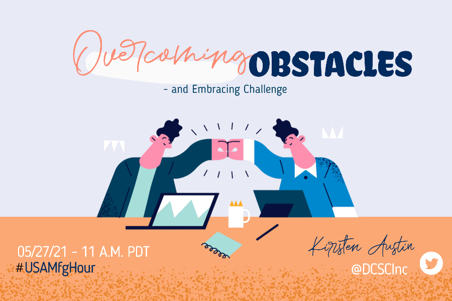 overcoming obstacles twitter chat