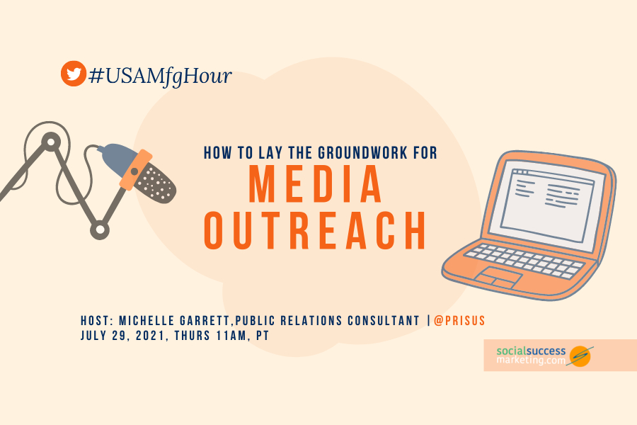 how to lay the groundwork for media outreach