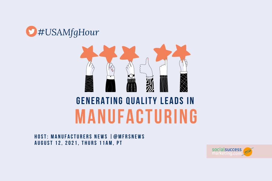 generating quality leads in manufacturing