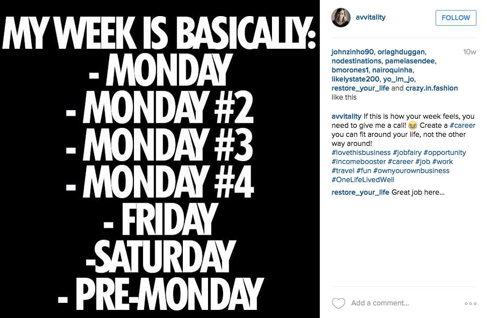 empathische Instagram Stellenanzeigen