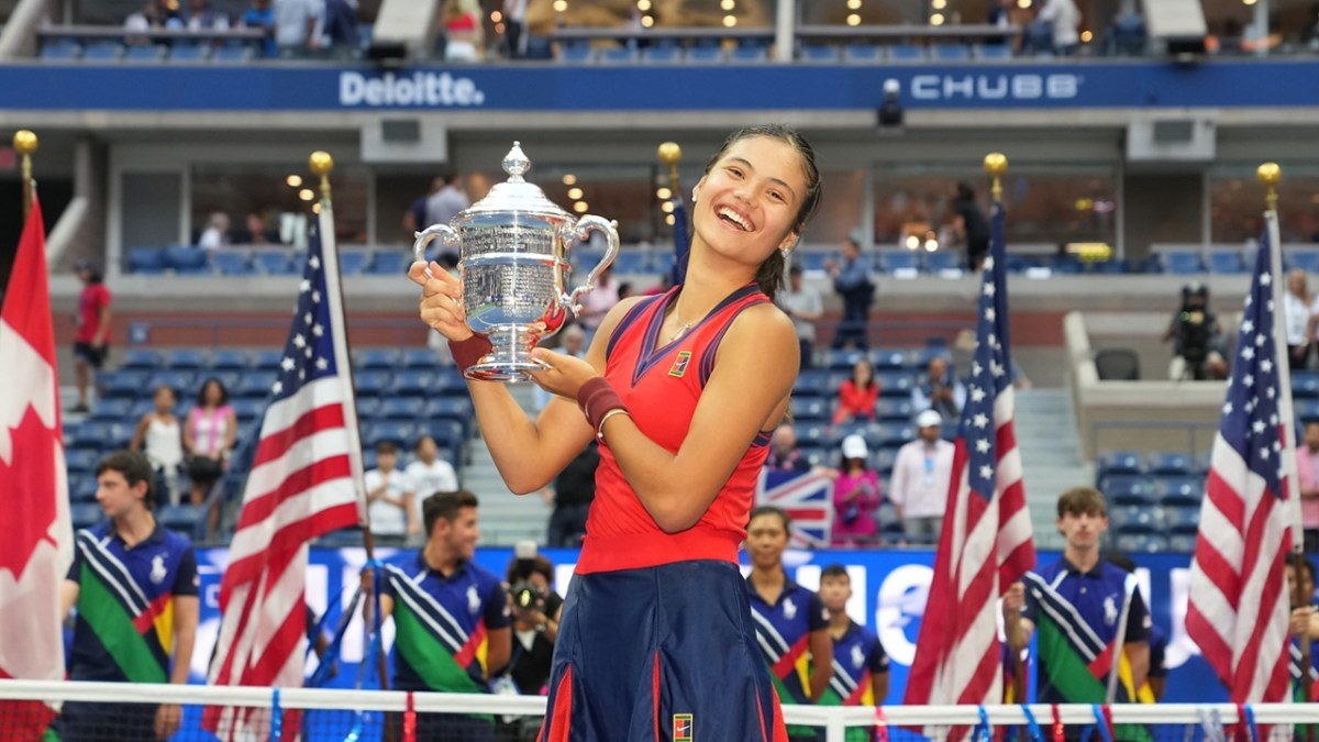 Emma Raducano vittoriaosa allo US Open