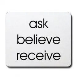 askbelievereceive attraction