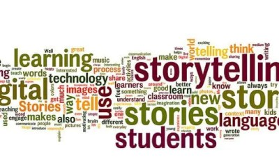 digital storytelling wordle