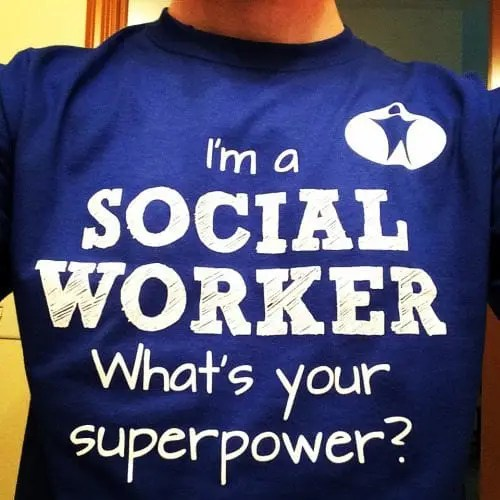 Social Workers and Superheroes