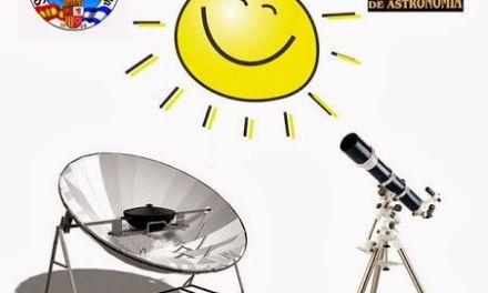Jornada de Observación Solar, sábado 16 de Noviembre
