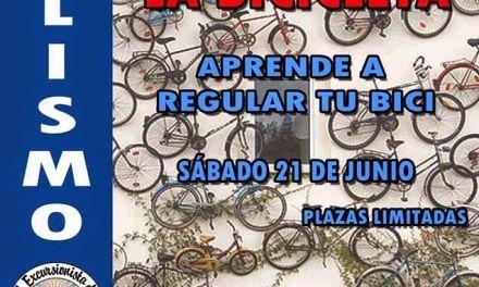 Taller mecanico de bicicletas el  sábado 21 de junio
