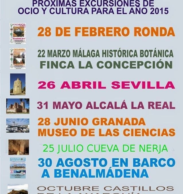 Programa Actividades Socioculturales 2015