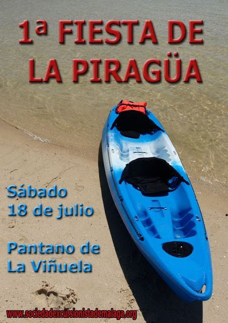 1ª Fiesta de la Piragüa, sábado 18 de Julio