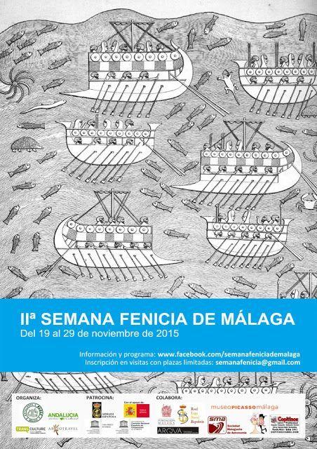 2ª Semana Fenicicia de Málaga, 19 a 29 de noviembre