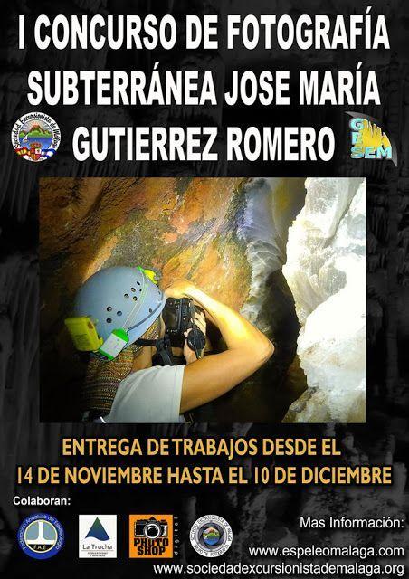 Concurso de fotografía subterránea José María Gutiérrez Romero