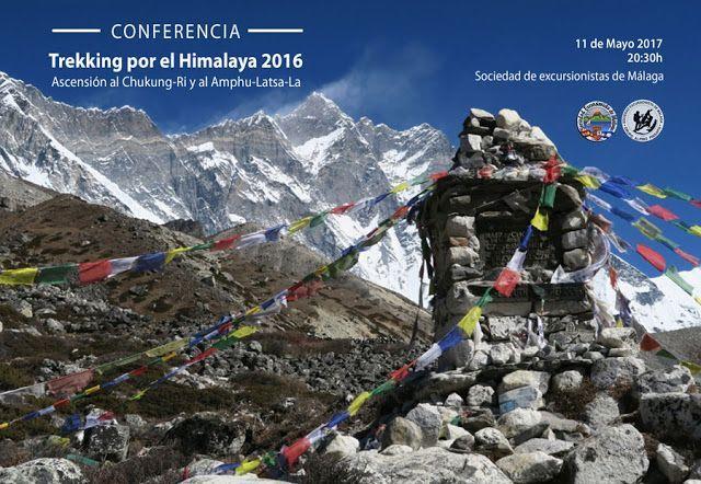 Conferencia y proyección Trekking por el Himalaya 2016. 11 de mayo a las 20:30 horas