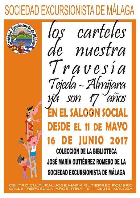 Exposición carteles travesia Tejeda Almijara