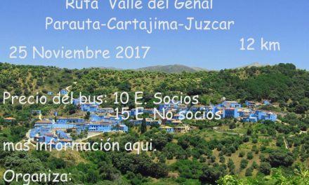Ruta Valle del Genal 25 – Noviembre