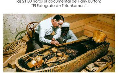 """Proyección documental: """"El fotógrafo de Tutankamon"""""""