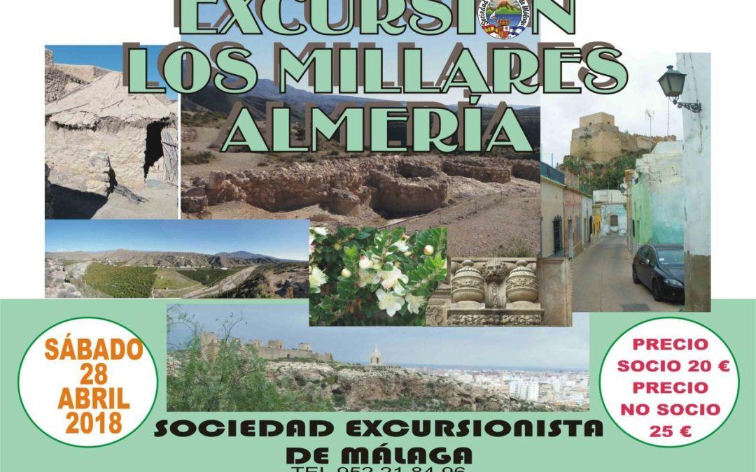 Excursión Los Millares – Almería