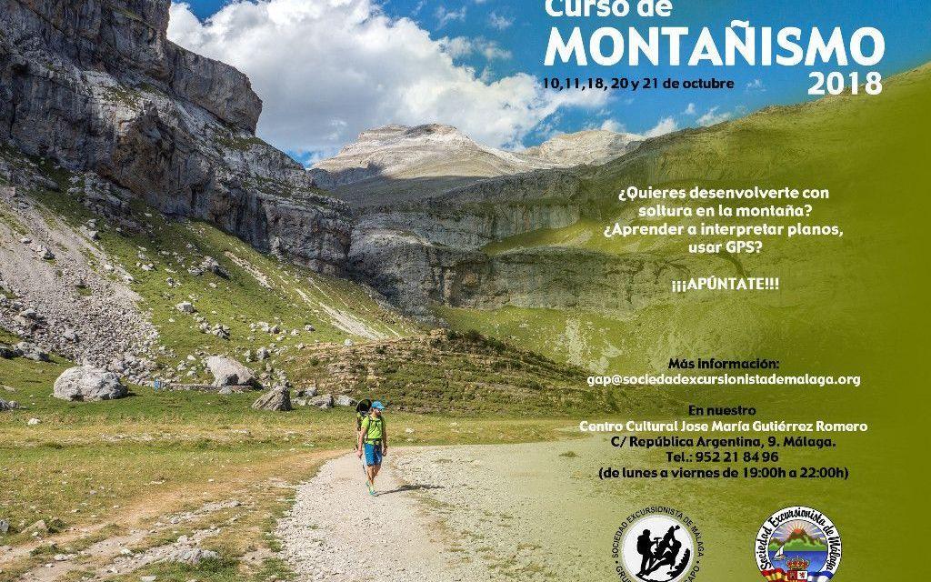 Curso de iniciación al montañismo