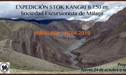 Proyección de la Expedición Stok Kangri 6.150m. Himalaya-India