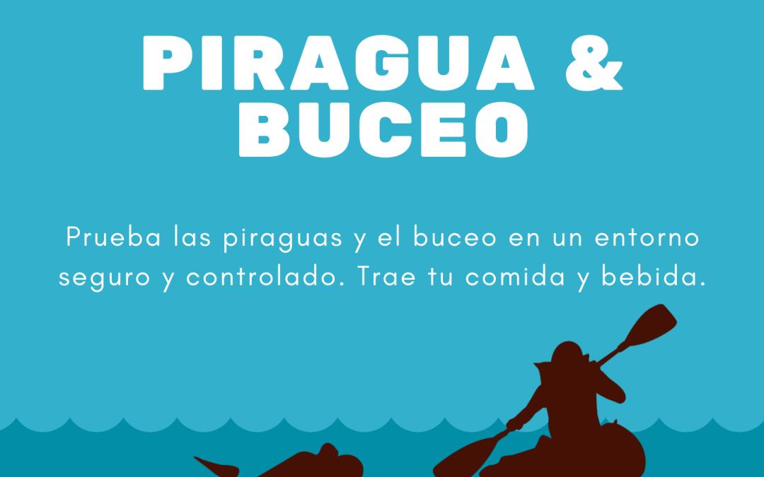 Hermanamiento piragua & buceo