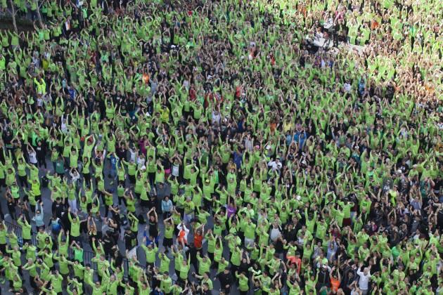 Herbalife batió récord Guinness de personas ejercitándose al mismo tiempo