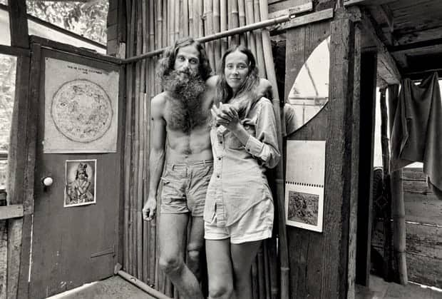 Johnny and Marie at home