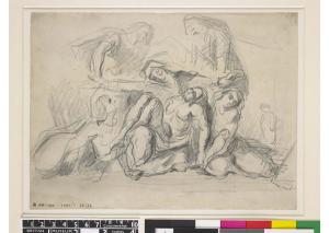 C0167 La Mise au tombeau, d'après Delacroix 66-67