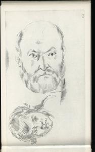 C0615 Autoportrait et portrait du fils de l'artiste 80-82 ou c80 CII 21R