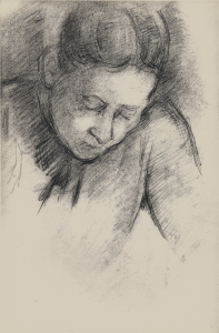 C1015 Femme penchée en avant 90-94