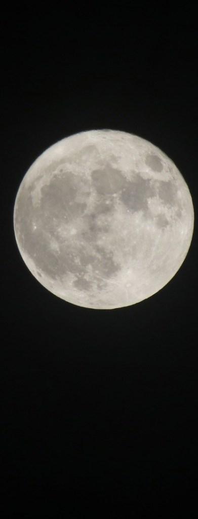 La lune.