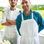 Chef Mathias Brogie, Alexander Eberle (The Living Room c/o The Maidstone)