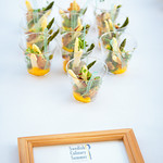 Asparagus with Egg, Bread, Lemon and Mushroom Creme