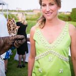 "Melanie Wambold and ""Martino"" the Eastern Screech Owl"