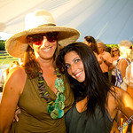 Donna Karan and Her Granddaughter McKenzie