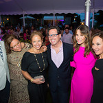 Chef Geoffrey Zakarian, Fern Mallis, Katie Couric, Dr. Howard Sobel, Gayle Sobel, Rosanna Scotto