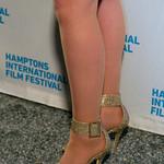 Wendy Dent's Gold Heels