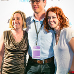 Jessica Swartz, producer Adam Donaghey, Barrett Nash