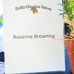 Roxanne Browning (Exotic Chocolate Tasting)