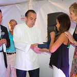 Robert Kantor, Chef Jean-Georges, Mary Kantor, Adrienne Kantor