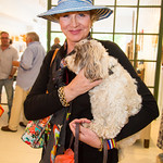 "Barbara Hearst with ""Bandit"""