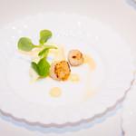 Seared Bay Scallops  by Chef Joe Cipro