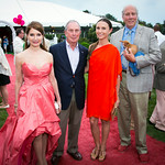 Jean Shafiroff, Mayor Michael Bloomberg, Georgina Bloomberg, Robert McCann