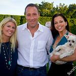 """Gail Tobias, Sam Tobias, Wendy Diamond with """"Lucky"""""""