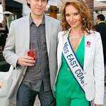 Yevgen Borodin, Jen Sidorova (Miss East Coast American Beauty)