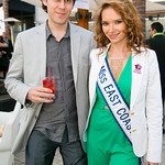 Yevgen Borodin, Jen Sidorova (Miss East Coast American Beauty)