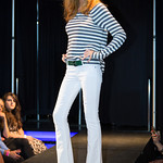 Model on the Runway
