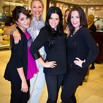 Aarushi, Naomi, Nikki, Carla (Saks Makeup and Beauty Specialists)