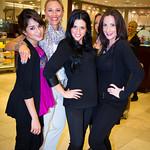 Aarushi, Naomi, Nikki, Carla (Saks Makeup and Beauty Specialists)