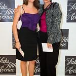 Nicole Zuccaro, Diane Wallace (Saks Marketing Director)