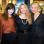 Mindy Shine, Doris Revas, Angie Paulino (Saks Makeup and Beauty Specialists)