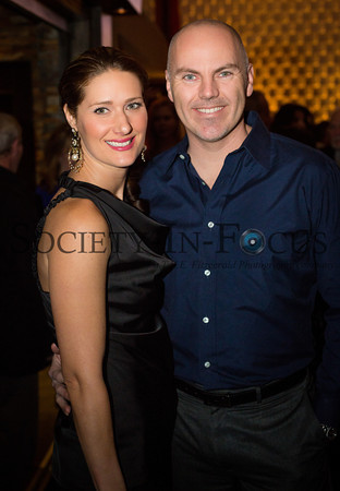 Rachel Finnegan and Michael Finnegan Attend the Long Island Pulse February 2013 Cover Party at Insignia in Smithtown