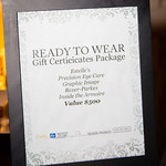 Ready to Wear Gift Certificates Package